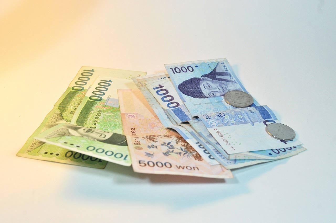 деньги в Корее