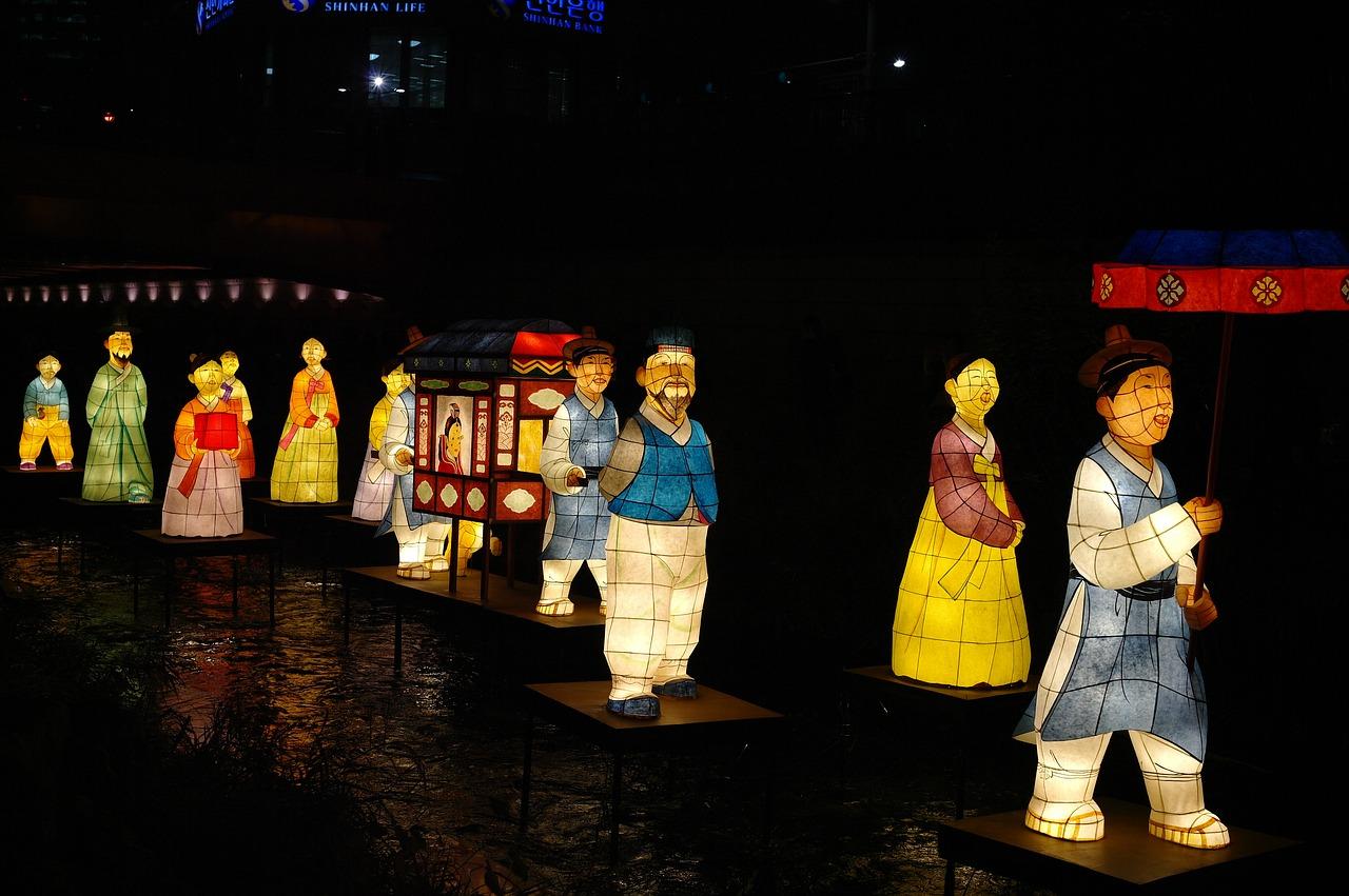 Праздничные обычаи в Корее