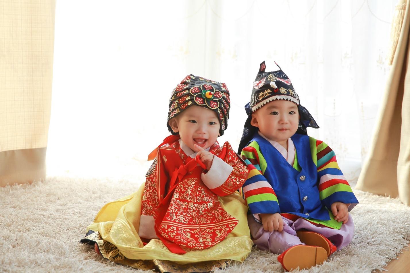 костюм ханбок