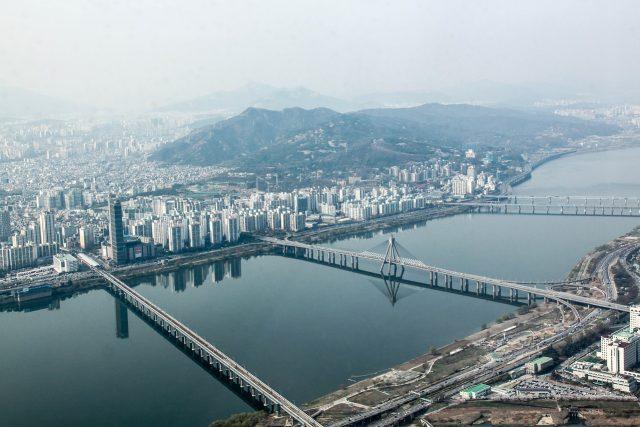 Географическое положение Южной Кореи