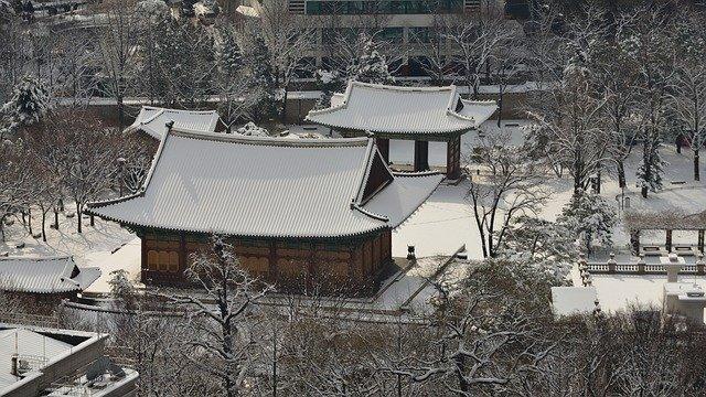 Погода в Сеуле в декабре
